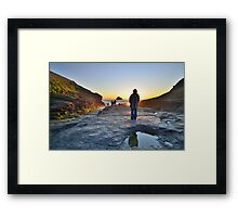 Cornwall: 'Her Indoors' in the Great Outdoors Framed Print