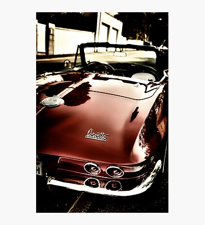 Oldtimer Stingray HDR Photographic Print