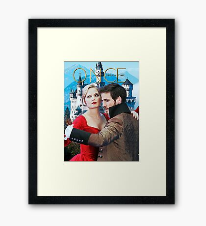 Captain Swan Fairy Tale Comic Poster 3 Framed Print