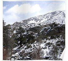High Sierra Looking Poster