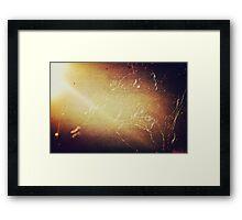 the grungy light 2 Framed Print