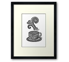 Coffee for One Framed Print