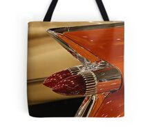 1959 Cadillac Convertible Tail Fin Tote Bag