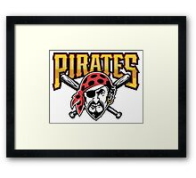 PIRATES Captain hook Framed Print