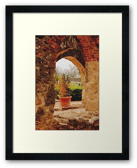 Archway in Digital Oil by SJBroadmeadow