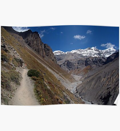 The Path to Thorung Phedi Poster