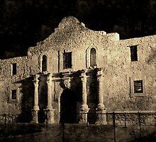 Vintage Alamo by SJBroadmeadow
