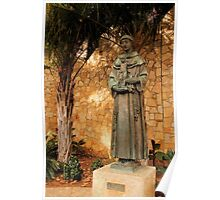 St. Anthony of Padua in Digital Oil Poster