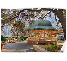 San Antonio Bandstand in HDR Poster