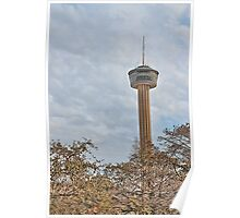 The Tower of the Americas in San Antonio Poster