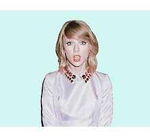 Surprise face Taylor Swift Photographic Print
