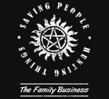 Supernatural Family Business Quote by thepixelgarden