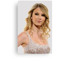 Delicate Taylor Swift Canvas Print