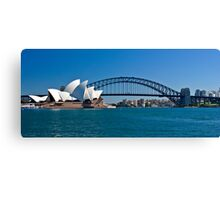 Postcard Sydney Canvas Print