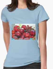 Fifty Shades of Red - Tote Womens Fitted T-Shirt