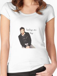 Lonely Boy Women's Fitted Scoop T-Shirt