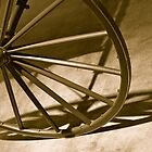 Wagon Wheel by Joy Fitzhorn