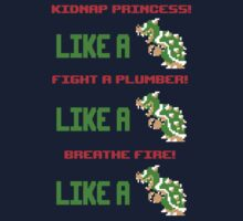 Like a Bowser by GhostGlide
