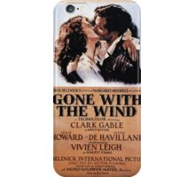 Gone With The Wind - 3 iPhone Case/Skin