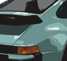 porsche, 911, turbo Sticker