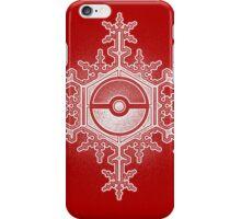 Pokeball Snowflake iPhone Case/Skin