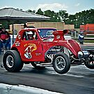 1937 Fiat Topolino Gasser - Hot off the Line!!  by Mike Capone