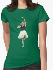 Ballet Dance Taylor Swift Womens Fitted T-Shirt