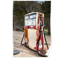 Petrol Pump Nerriga NSW Poster