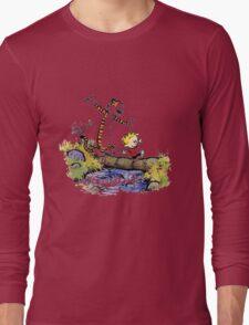 Calvin and Hobbes Long Sleeve T-Shirt
