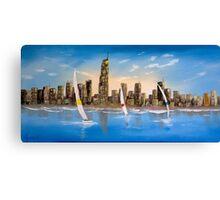 Gold Coast Yacht's Canvas Print