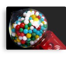 Miniature Bubble Gum Machine Metal Print