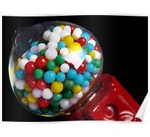 Miniature Bubble Gum Machine Poster