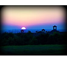 Sunset in Temple Photographic Print