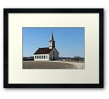 St Olaf Kirke Framed Print