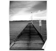 South Perth jetty Poster