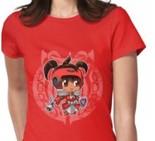 Aion - Cute Cleric Womens Fitted T-Shirt