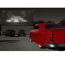 The Drive-In Photographic Print