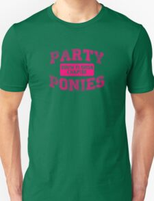 Party Ponies - Pink Unisex T-Shirt
