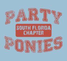 Party Ponies - Orange Kids Clothes