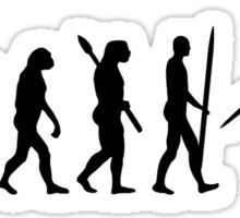 Evolution Javelin throw Sticker