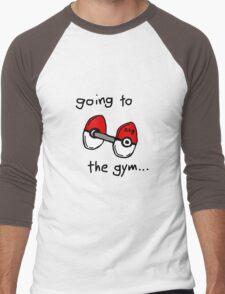 Going to the gym Men's Baseball ¾ T-Shirt