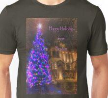 Trinity Tree – Happy Holidays from Boston Unisex T-Shirt