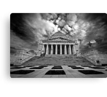 The Shrine of Rememberance Canvas Print