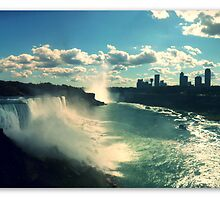 Niagara Falls Panoramic by PhilM031