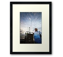 My Dad -  The Fisherman Framed Print