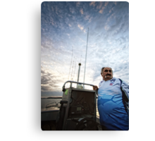 My Dad -  The Fisherman Canvas Print