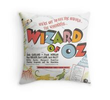 The Wizard of Oz (Alt) Throw Pillow
