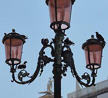 Lamp in Venice by tracyannjones
