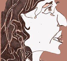 Pensive Person #1 by MegHanWa