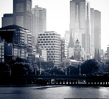 Melbourne at Sunrise by Andrew Wilson